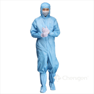 A-52 Cleanroom ESD/Anti-Static Coverall/Bunny Suit