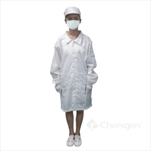 B-62 Cleanroom ESD/Anti-Static Smock/Lab Coat