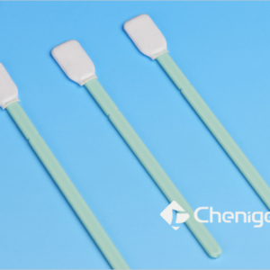 CJ-PS005 Knitted Polyester Cleanroom/ESD Swab