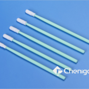CJ-PS013 Knitted Polyester Cleanroom/ESD Swab