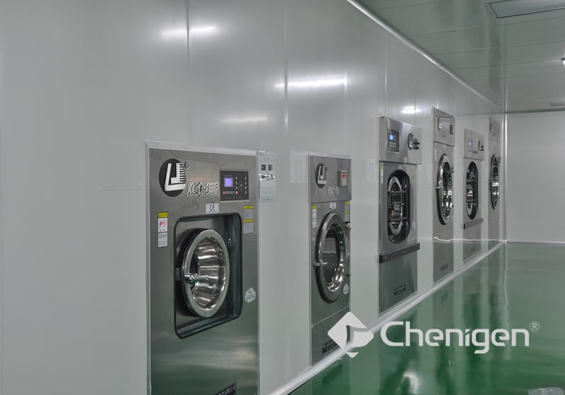 Laundry Equipment for Cleanroom Wipers