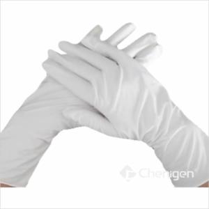 White Cleanroom Nitrile Gloves
