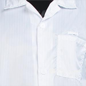 Details of B-61 Cleanroom ESD/Anti-Static Smock/Lab Coat