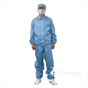 J001 Cleanroom ESD/Anti-Static Lapel Jacket & Trousers