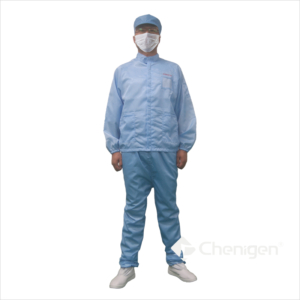 J003 Cleanroom ESD/Anti-Static Stand Collar Jacket & Trousers