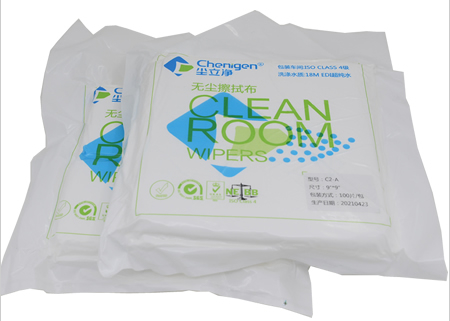Polyester Microfiber Wipes Cleanroom Wipers