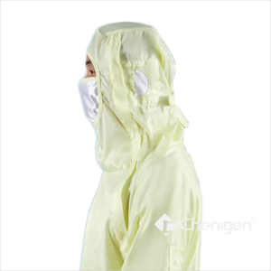 Side Head of A-59 Cleanroom ESD/Anti-Static Coverall/Bunny Suit